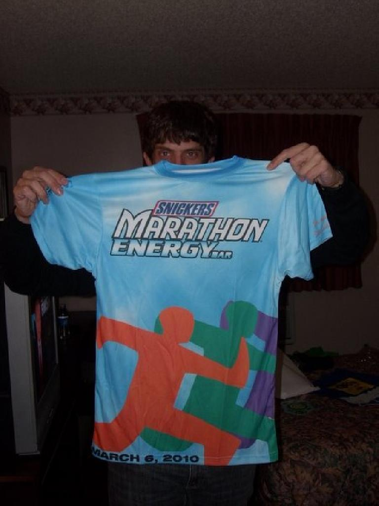 Snickers Marathon in Albany, GA. (March 6, 2010)