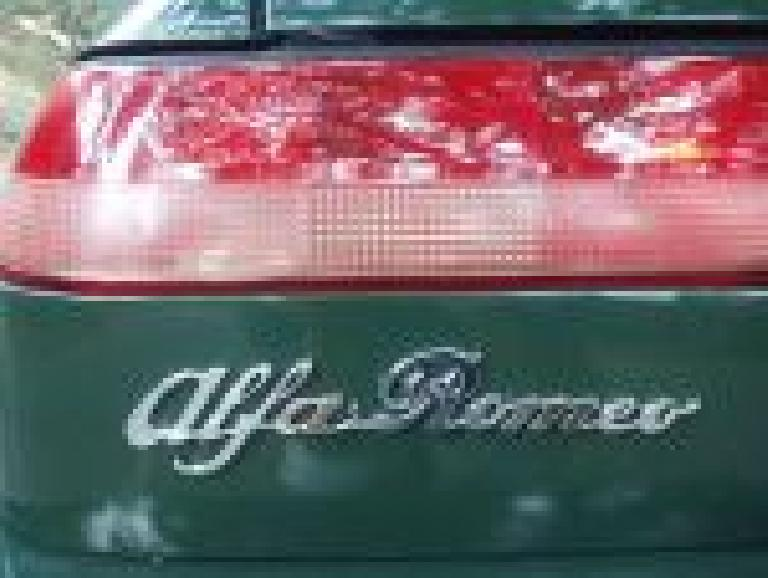 New emblem on my 1991 Alfa Romeo Spider.