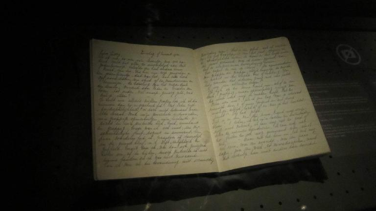 Part of Anne Frank's Diary.
