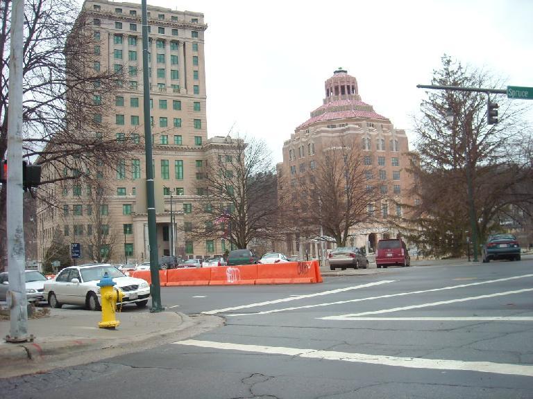 Downtown Asheville.
