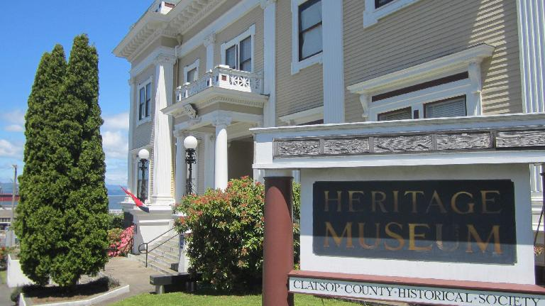 Heritage Museum, Astoria, Oregon.