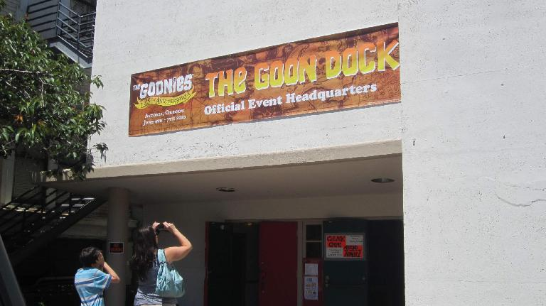 The Goon Dock official event headquarters, Astoria, Oregon