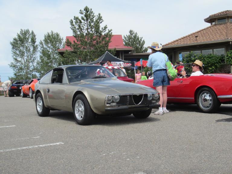 Alfa Romeo Zagato.