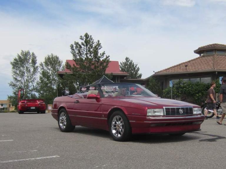 Pininfarina did a great job styling the Cadillac Allante (circa 1990) in my opinion.