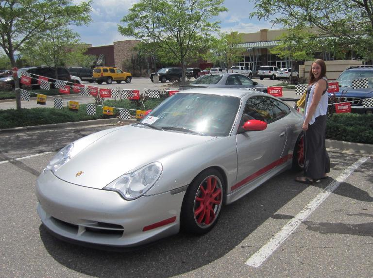 Kelly and Porsche 911 GT3 from the early 2000s.