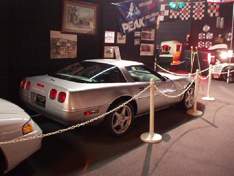 Forever a sports car guy, my favorite cars in this American muscle-centric museum were the 'Vettes.