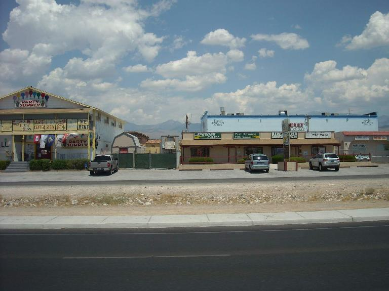 More typical establishments in Pahrump, NV. (July 9, 2011)