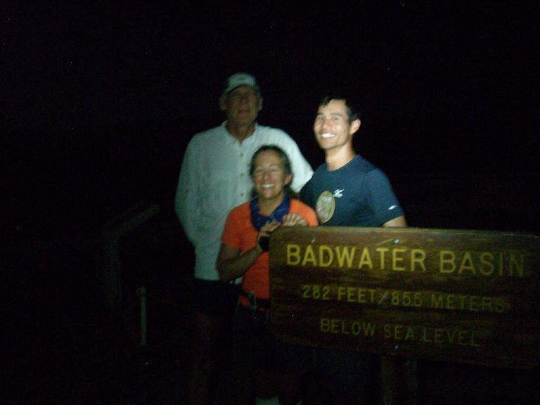 Made it back to Badwater after 139.8 hours! (July 17, 2011)