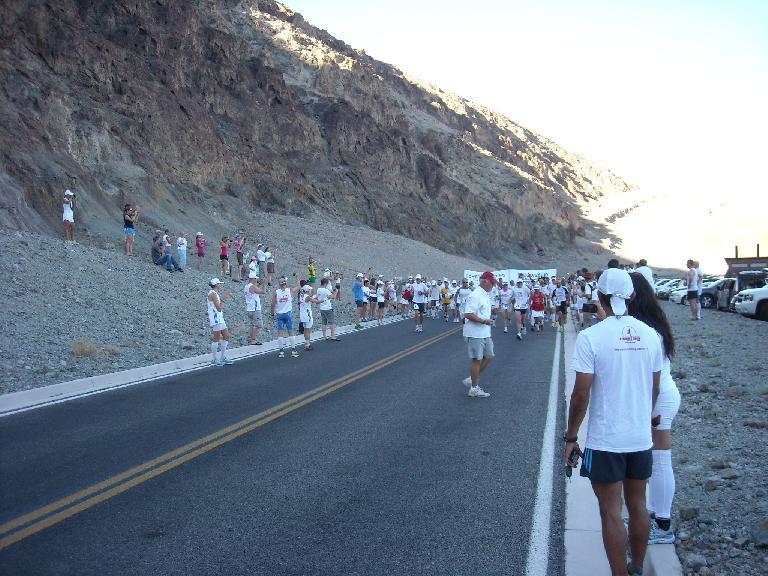 8:00am start: the journey begins. (July 11, 2011)