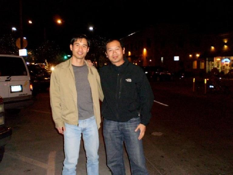 Felix Wong and Bandy. Photo: Bandy Nuon.
