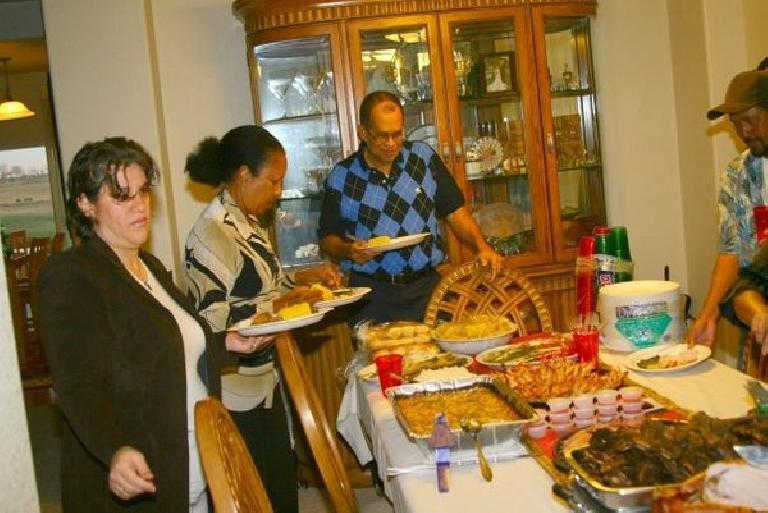 Bandy's relatives. Photo: Bandy Nuon. (November 26, 2009)