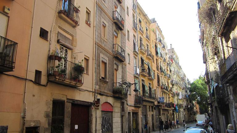 Apartments near Barceloneta.