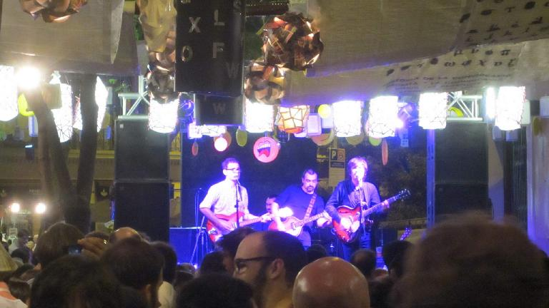 There was a festival in Barcelona while we were there featuring a lot of neighborhood bands.