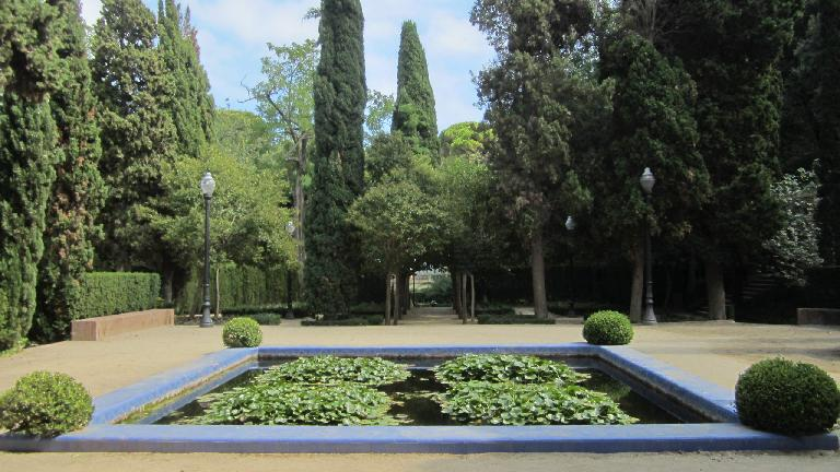 Gardens in the Olympic area.