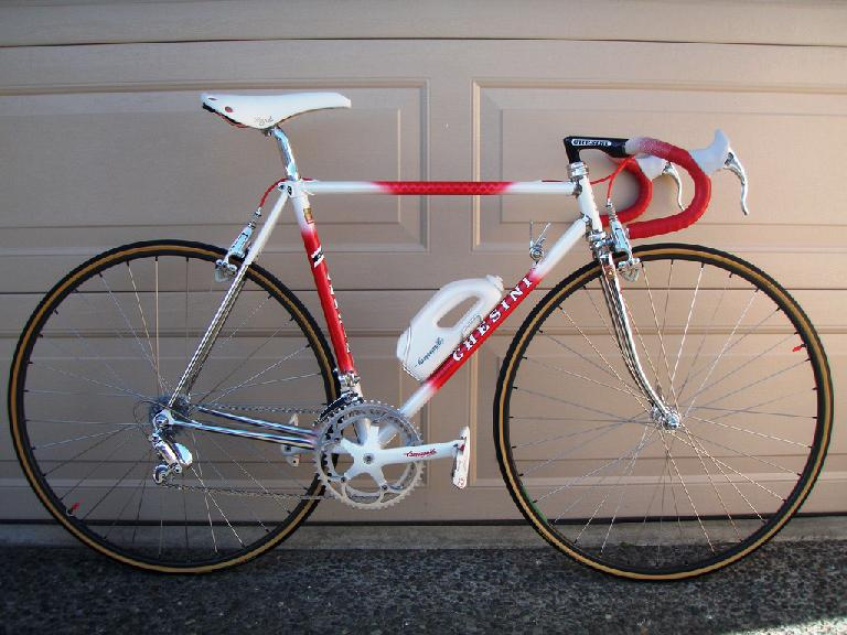 Gorgeous red and white Chesini. Photo: RoadBikeReview.com forums.