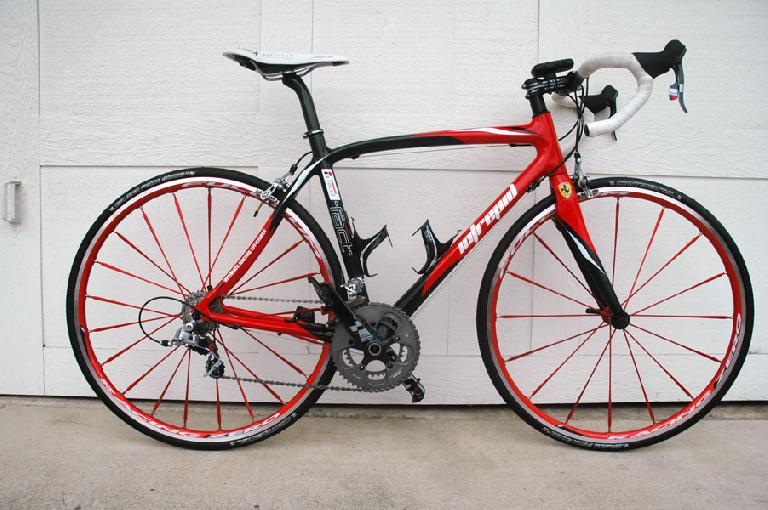 Another bike with swoopy lines: Neospazzy's Pedal Force RS2. Photo: RoadBikeReview.com forums.