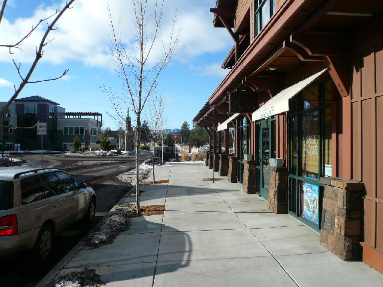 """We had lunch at the Sage Cafe in Northwest Crossing, a subdivision that had its own little """"downtown."""" (January 15, 2008)"""