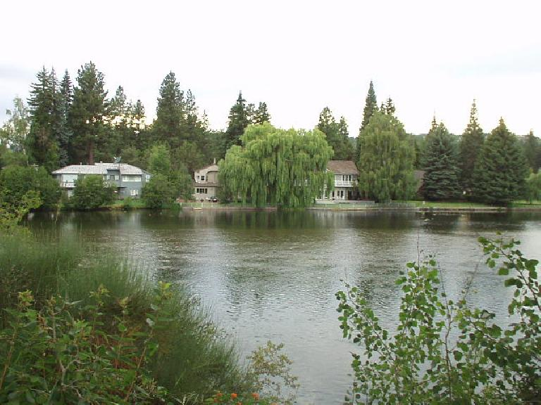 Homes along the Deschutes.  I have no idea how much these go for but will try to find out.