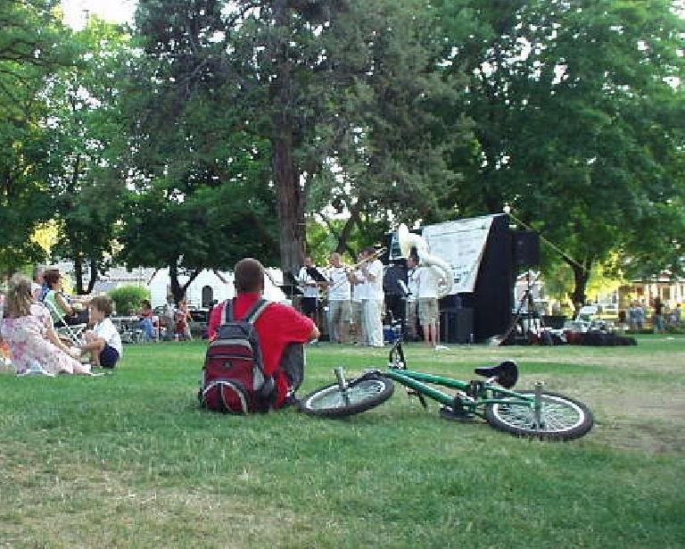 """In summer on every Thursday is """"Munch 'n' Music"""" in Drake Park, which is a series of free jazz/blues concerts.  This is such a great town!"""