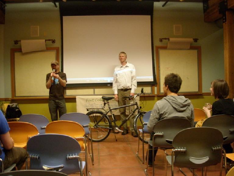 Bikes for Ghana presentation.