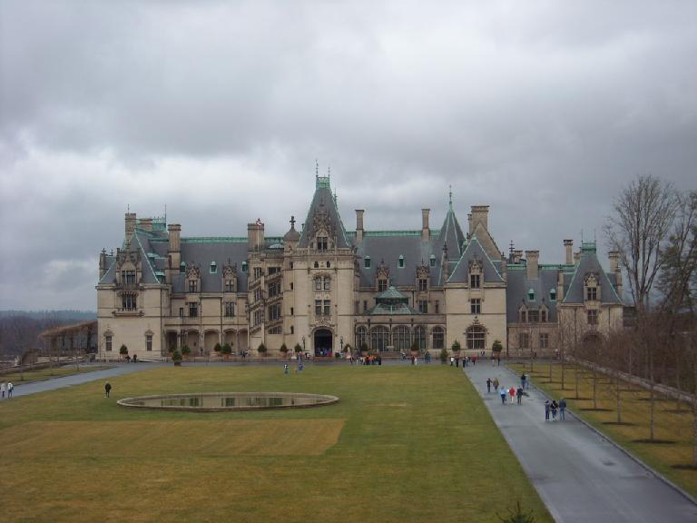 The Biltmore House in Asheville, NC, is America's largest home.