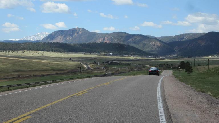 Mile 52: Rolling hills.