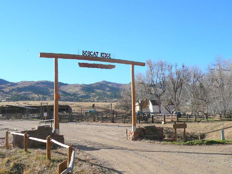 Bobcat Ridge is a new reserve opened by the City of Fort Collins.  It is actually in Masonville, CO.