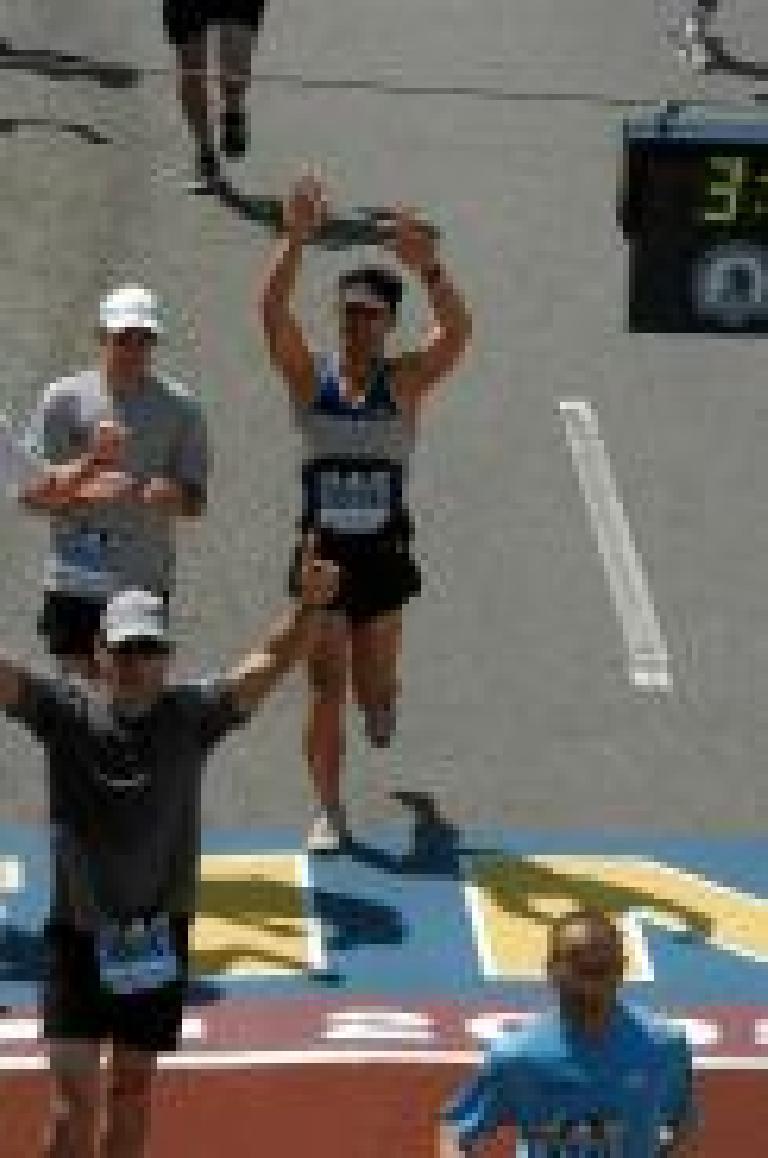 Finished!  Photo: MarathonFoto.com.