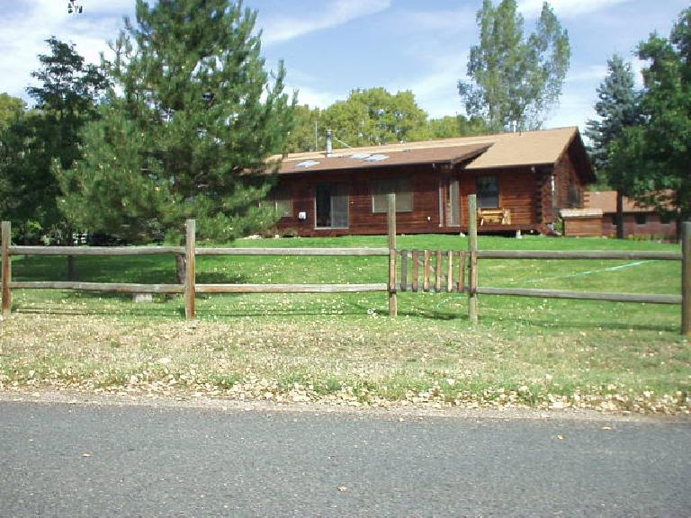 There are a few ranchers like this one in Eldorado Springs.  There are also massive homes with acreage.