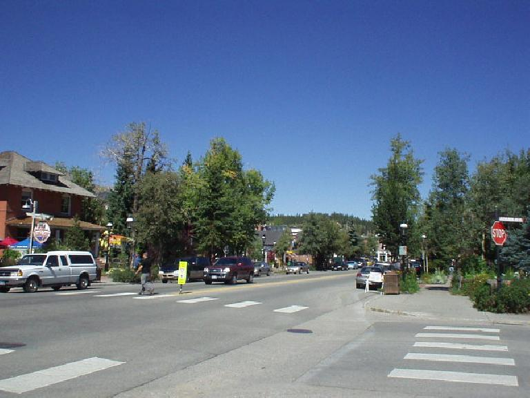 Downtown was very lively and not just with tourists on this Thursday.