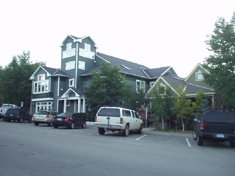 "Architectural codes are very stringent in Summit County, and you will not find a ""big box"" store like Walmart in Breckenridge. (There is one in Frisco but even that looks ""correct"" here.)"
