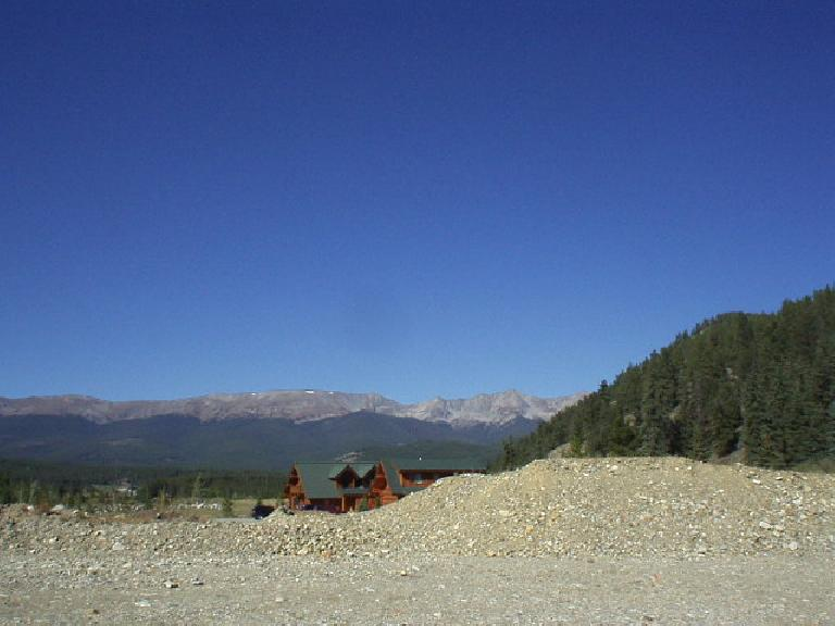 Mike and Angela recently purchased this 3-acre parcel of property with incredible 360 degree views, a river running right by it and miles of mountain bike trails right in its back yard!.