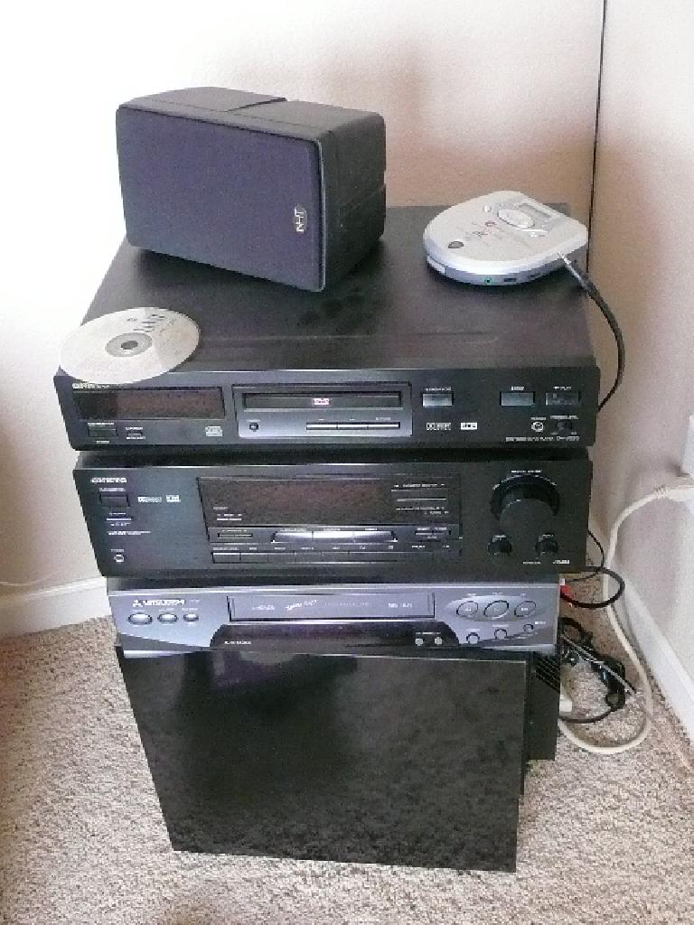 Electronics that had broken on me.