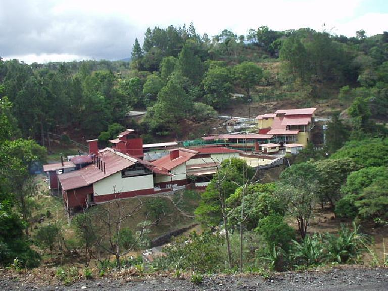 This is the coffee processing facility in Palmira (very near Boquete) for Cafe Ruiz, which won the international award for world''s best coffee 3 out of the last 6 years.