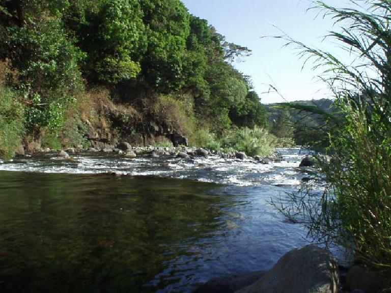 Here's the downstream view.
