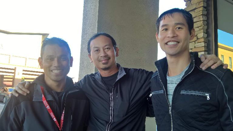 Tongly Loth, Bandy Nuon, Felix Wong
