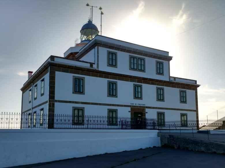 The Faro de Fisterra (Fisterra Lighthouse).