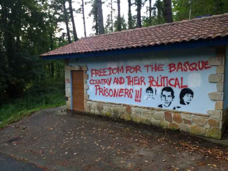 """Freedom for the Basque Country and their political prisoners!!!"""