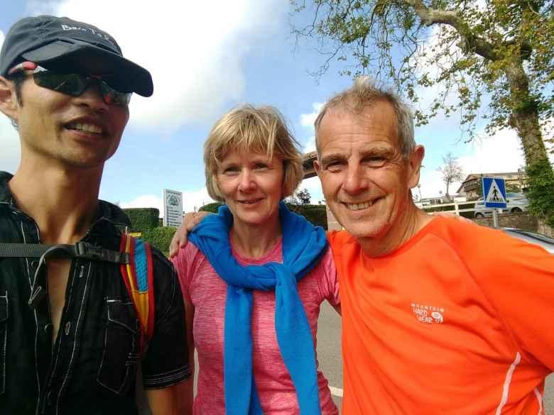 Felix Wong, who ran into John and Karen again, near Santallina.  They had taken the bus.
