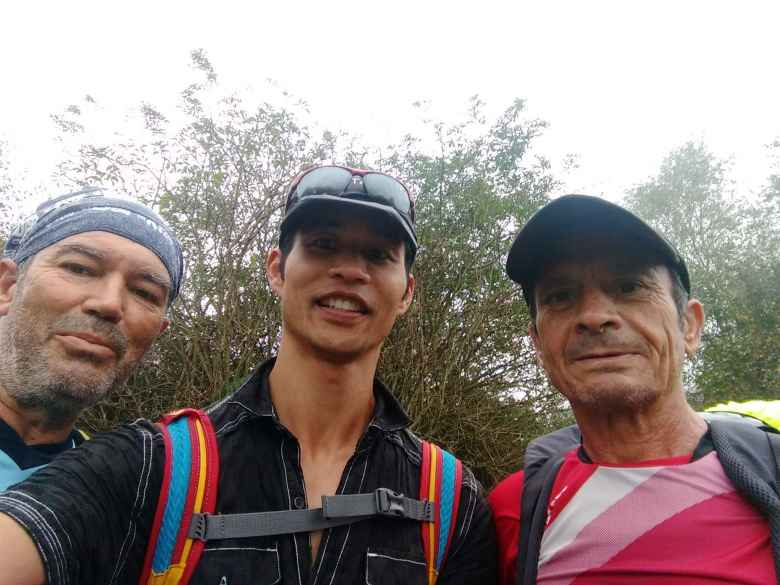 I encountered these two strong Spaniards named Jesus and José Luíz near Porciles, Spain. Despite carrying a lot of weight, they were hiking faster than I was.