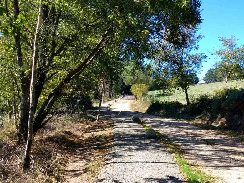 The Camino Primitivo in Casacamiño, Spain.