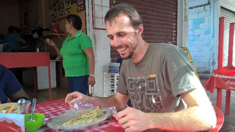 Yucatan quesadilla, Alberto François, Cancun