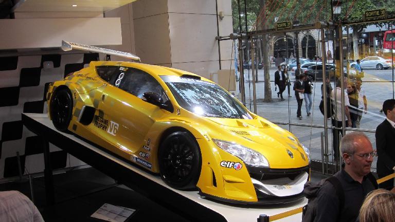 Renault rally car.