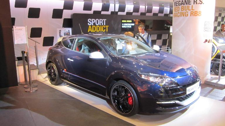 The sporty Renault Megane Coup̩.