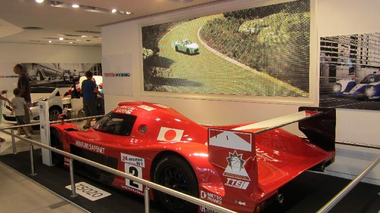 Toyota race car.