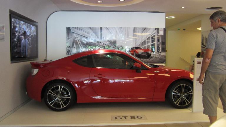 Toyota GT86.