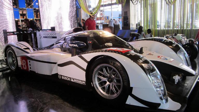 Peugeot race car.
