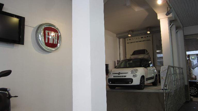 Fiat dealership.
