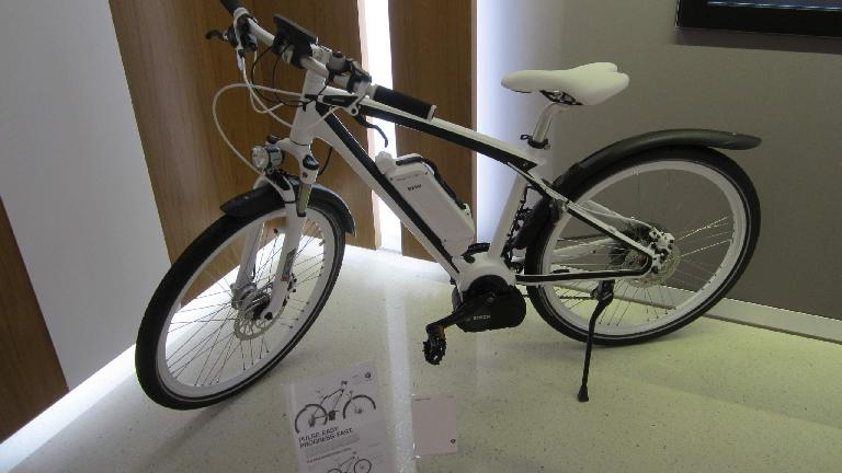 BMW electric bicycle.