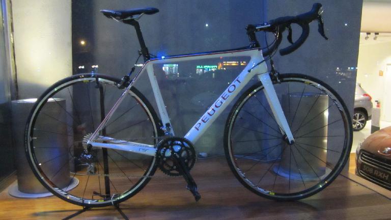 Peugeot bicycle.